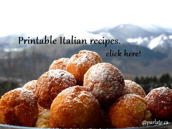Ricette italiane ~ Italian recipes